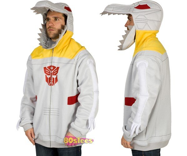 Grimlock Hoodie Transforms You Into a Dinobot