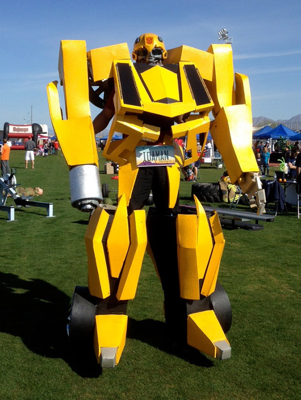 transformers bumblebee costume 1