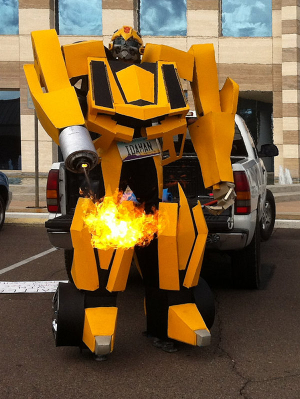 transformers bumblebee costume 2