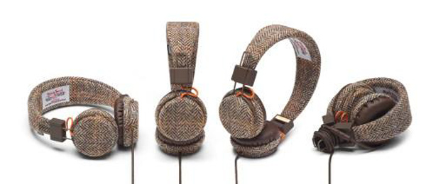 urbanears plattan headphones harris tweed positions