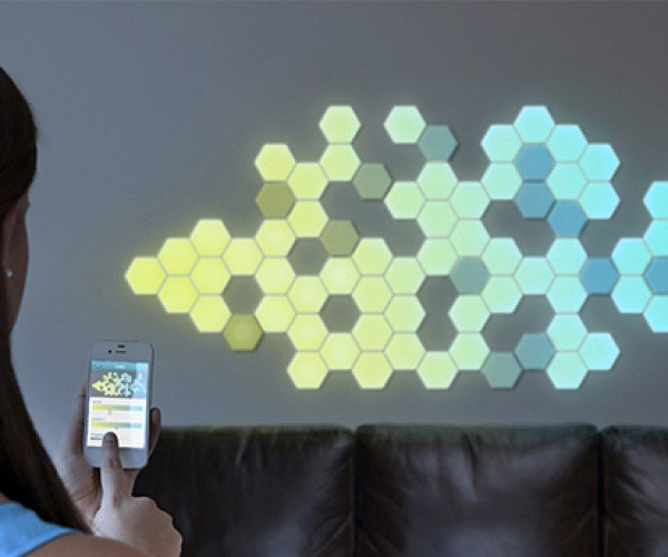 wallbrights bluetooth led decal concept