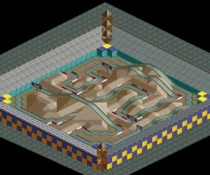 Mario Kart Tracks Get Recreated in Roller Coaster Tycoon