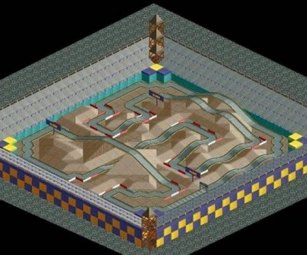 Mario Kart Tracks Get Recreated in Roller Coaster Tycoon