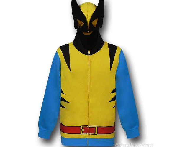 Wolverine Classic Hoodie: Adamantium Claws Sold Seperately