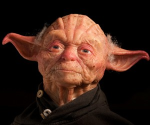 Yoda Bust with Human Complexion: Judge Me by My Color, Do You?