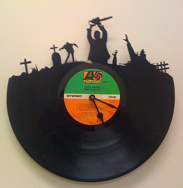 vintage record zombie clocks dawn of the dead vinyl