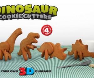 3d dinosaur cookies