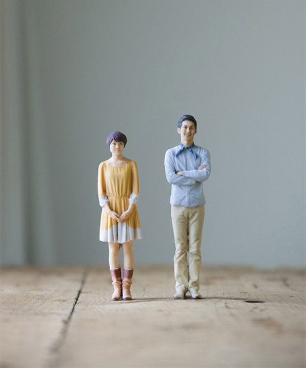 3d miniature portraits 1