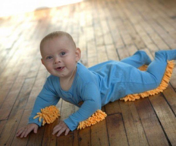 Baby Mop Lets You Put Your Little Bundle of Joy to Work