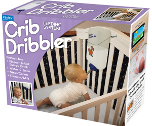 Crib Dribbler Feeds Your Baby So You Can Sleep, Eat, and Do Whatever You Want