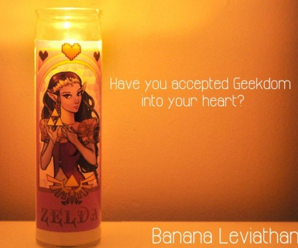 Devotional Candles Get Geeky