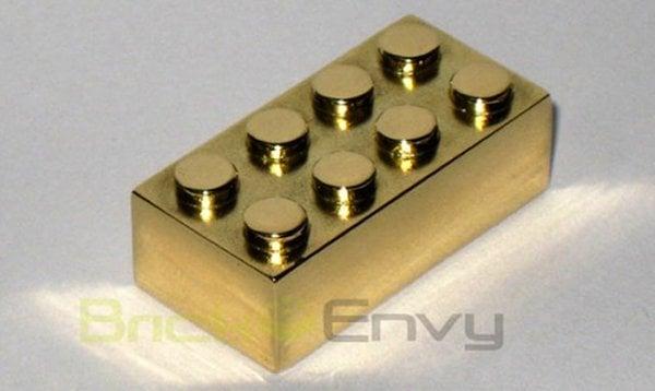 Gold Lego