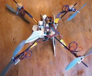 Dad Builds Quadcopter to Walk His Son to the Bus Stop