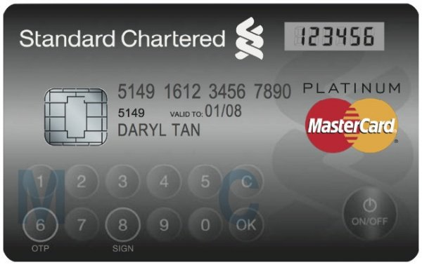 High Tech Credit Card