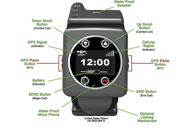 Leo GPS wristwatch 2