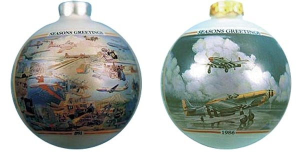 Airplane Ornaments For Christmas