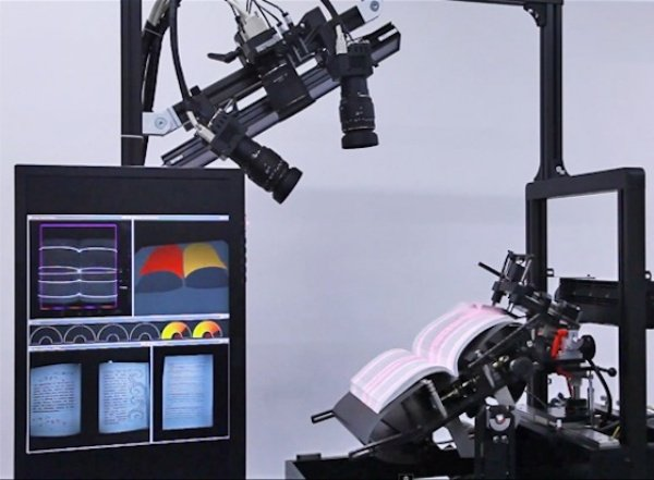 Robot Book Scanner