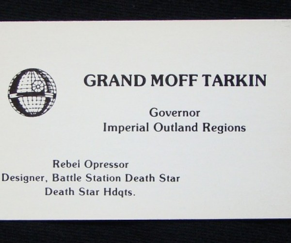 Star Wars Business Cards9a