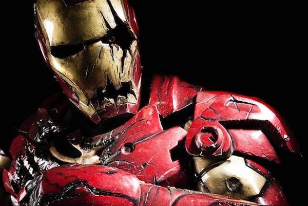 am… Zombie Iron Man