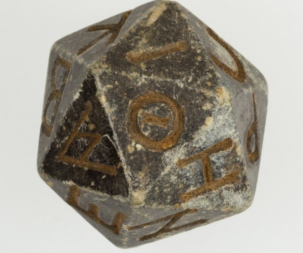 World's Oldest D20? Geek Like an Egyptian