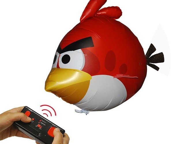 Angry Birds Air Swimmers: The Birds Fly without a Catapult