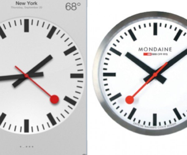 Apple to Pay Swiss $21 Million for Copying Clock Design in iOS