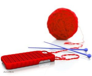 3D Printed Knitted Sweater iPhone 5 Case Wins Shapeways Competition