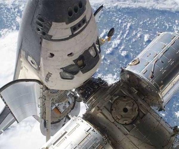 Space Shuttle Atlantis Begins Its Final 10-Mile Journey