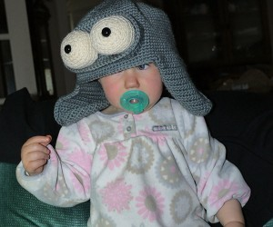 Robot Hat Turns Babies into Benders