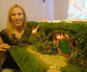 Coolest Mom Ever Creates Hobbit Doll House