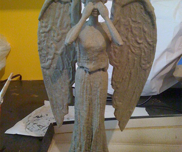Weeping Angel Barbie: Don't Blink!