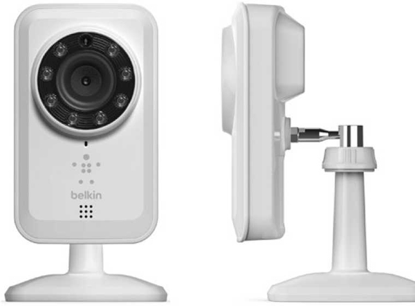 belkin netcam webcam security night vision motion sensor