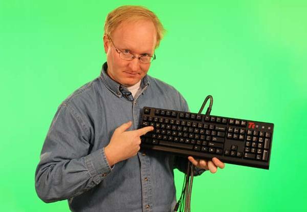 ben heck analog keyboard wasd mod