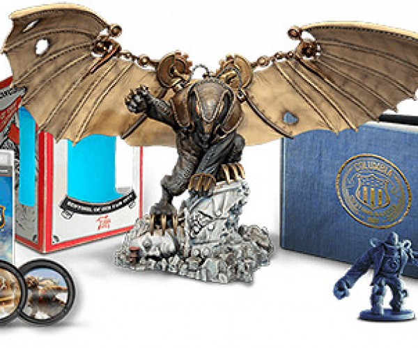 Ken Levine Shows off Bioshock Infinite's Ultimate Songbird Figure