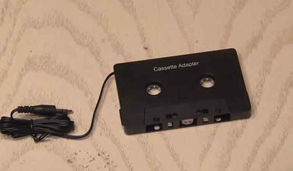 bluetooth cassette adapter hack by kipkay