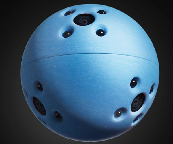 Ball-shaped Camera & Sensor: Real Life Battle Scanner