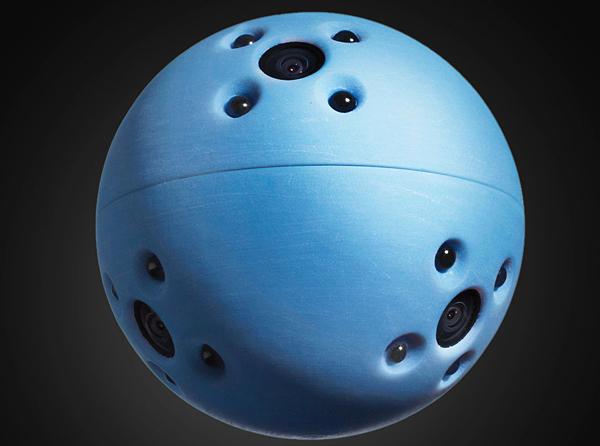 bounce imaging ball and sensor camera