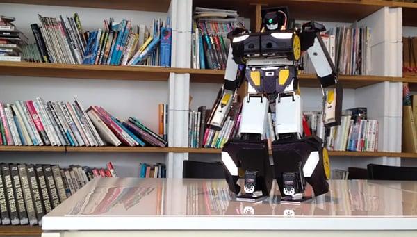 brave robotics transforming robot car by kenji ishida