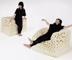Breathing Chair Conforms to Your Every Curve