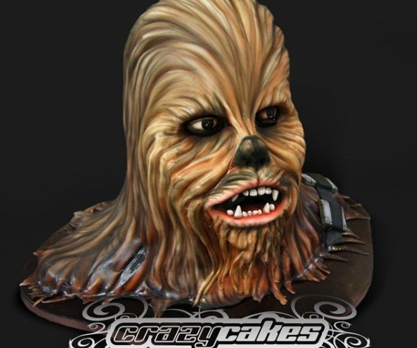 Chewbacca Cake Is Soft, Not Chewy on the Inside