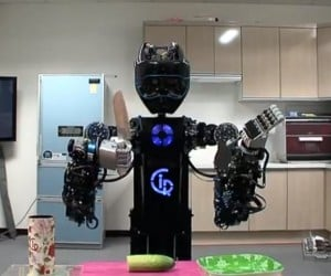 CIROS Robot Makes a Salad, Promises Not to Stab You