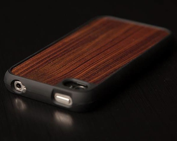 design skinz walnut iphone case sleeve wood