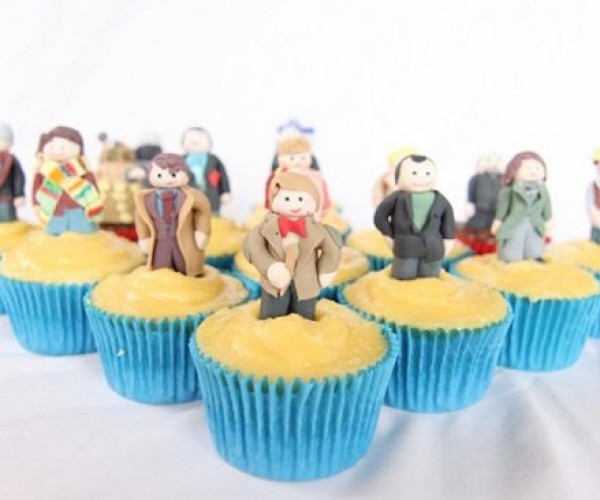 Doctor Who Cupcakes: Sweeter on the Inside