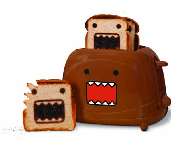 Domo Toaster: Bread and Monster Go Together Like, Well..
