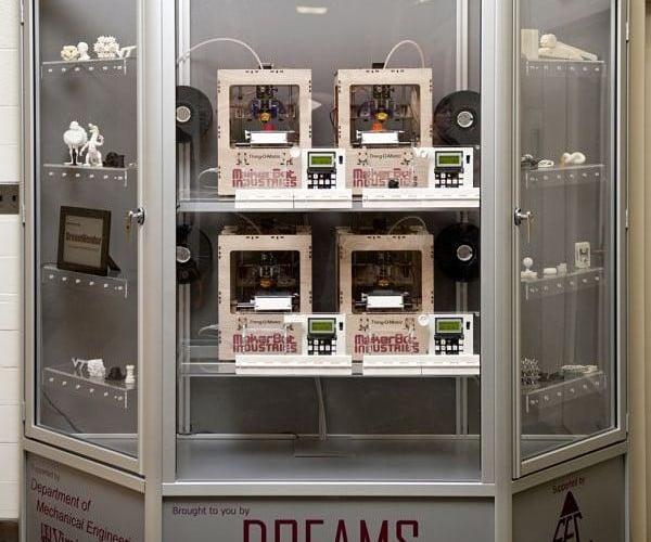 DreamVendor Prints 3D Objects, Not Dreams