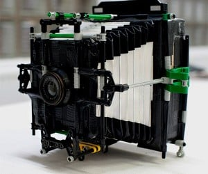 Camera Made out of Cardboard, Duct Tape and LEGO Actually Works