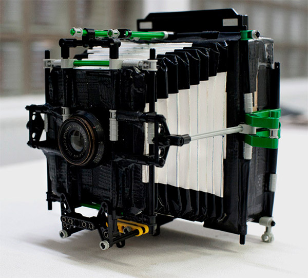 duct tape lego camera