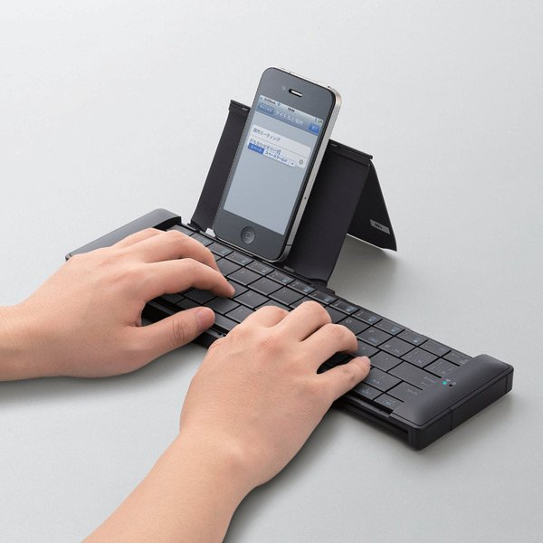 elecom bluetooth keyboard japan collapsible foldable compact
