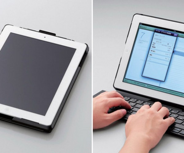Elecom iPad Case Becomes Full-Fledged Keyboard