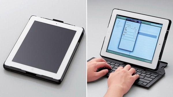 elecom ipad keyboard case folding foldable